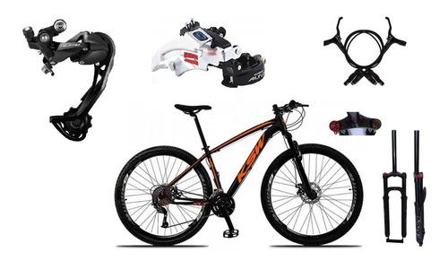Bicicleta 29 Ksw Cambio Shimano Alivio/altus 27v Hidráulico