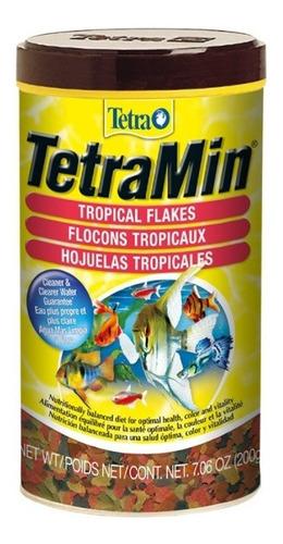Tetramin Flakes 200g Alimento Para Peces - g a $394