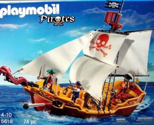 Barco Pirata Playmobil 5618