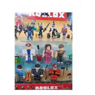 Muñecos Roblox X 6 C/ Accesorios En Blister