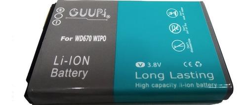 Bateria Pila WiPod Zte Wd670