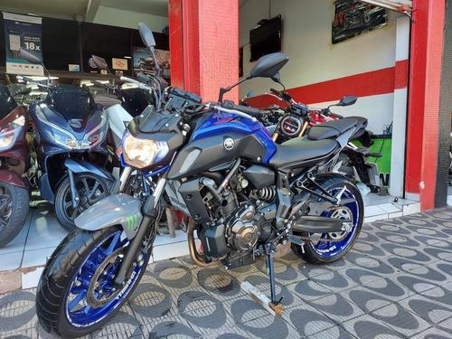 Yamaha Mt07 2020 Azul