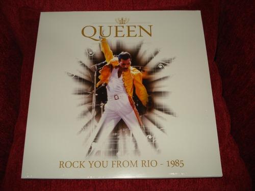 Vinilo Queen / Rock You From Rio 1985 (nuevo Y Sellado)