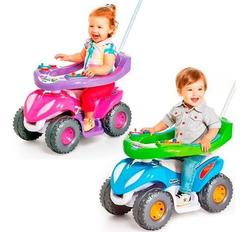 Carrinho Passeio Infantil Criança Bebe Protetor / Empurrador