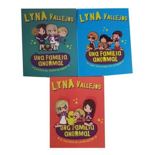 Pack Una Familia Anormal ( 3 Libros) Lyna Vallejos