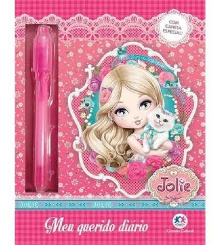 Meu Querido Diário Mágico Segredos Fantástico Jolie barbie