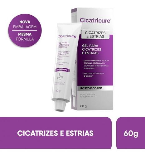 Cicatricure Gel Para Cicatrizes E Estrias 60g Original