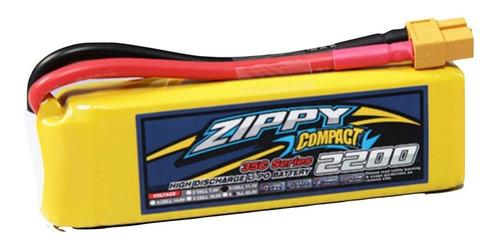 Bateria Lipo Zippy 2200mah 3s 11.1v 35c Dron Robotica Xt60