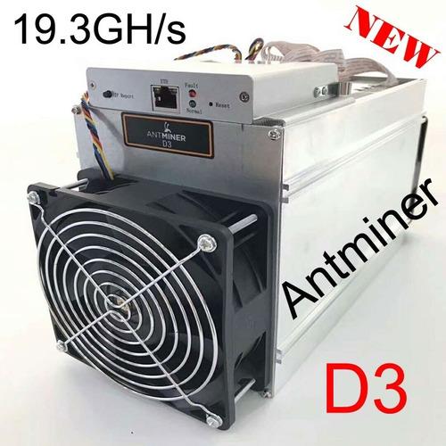 Mineradora Antminer D3 19.3g Com Fonte De Alimentação