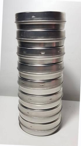 50 Latas Pastilleros Souvenirs De 7.5cm X 2.5cm