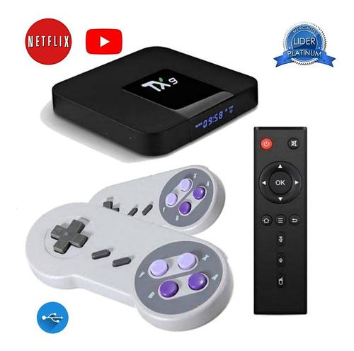 Vídeo Game Ultra Retrô Tv Box 21.000 Jogos