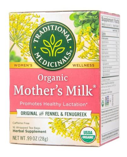 Mothers Milk Te De Lactancia Organico Leche Materna