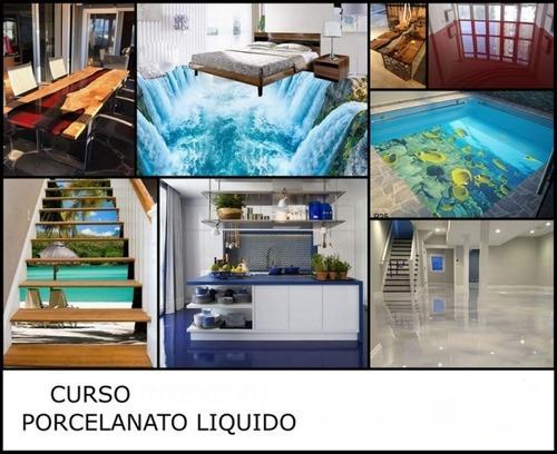 Curso Virtual De Porcelanato Liquido + Curso Pared 3 D