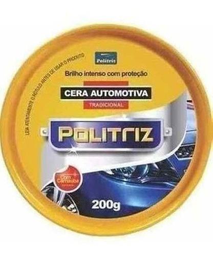 Cera Automotiva Pasta  Politriz   200gr  11549