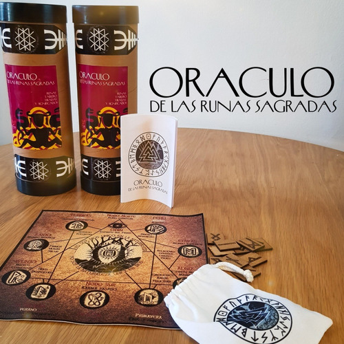 Oraculo De Las Runas Sagradas, Incluye Mapa, Runas Y Libro