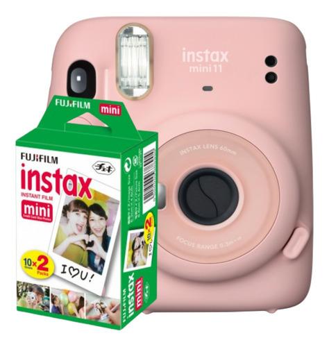 Câmera Instantânea Fujifilm Instax Mini 11 Filme 20fotos