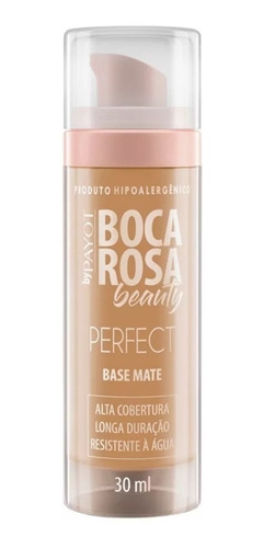 Base Mate Perfect Boca Rosa Beauty Payot Cor 4 Antônia 30ml