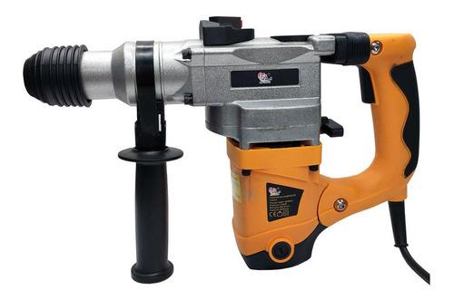 Martelete Sa Tools Sa9222 Amarelo Frequência De 50hz/60hz Com 1250w De Potência 110v