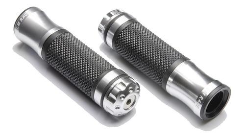 Manopla Moto Esportiva Alumínio Modelo Rizoma Varias Cores