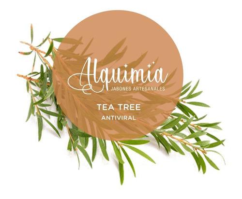 Jabón De Aceite Reciclado Con Tea Tree 60 G