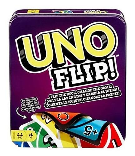 Juego De Mesa Uno Flip