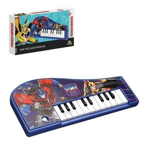 Teclado Piano Musical Transformers