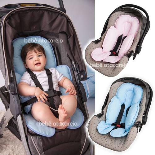 Capa Anatômica Carrinho E Bebê Conforto Almofada De Pescoço