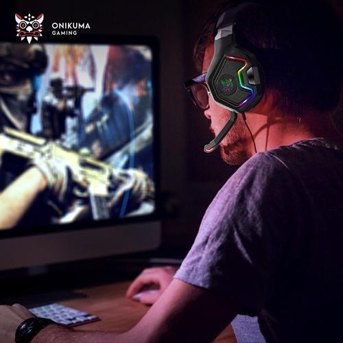 Audifonos Gamer Onikuma K10 Pro Rgb Pc Lap Ps4 Xbox One S X - Ecart