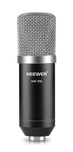 Micrófono Neewer Nw-700 Condensador Cardioide Negro