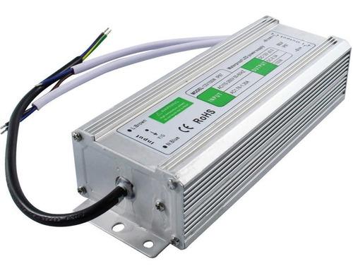 Transformador 12v 100w Para Exterior Tiras Led Modulos Rgb