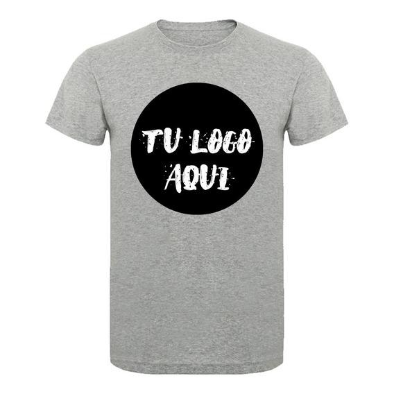 Remeras Personalizadas Estampada Sublimada Tu Logo 24 Hrs