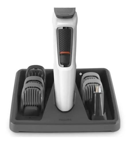 Máquina De Cortar Cabelo Philips Barba E Corpo Mg3721/77