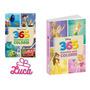 Kit 2 Livros Pixar E Disney Colorir Monstros S.a Dia Criança