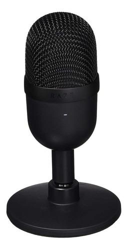 Micrófono Razer Seiren Mini Condensador Supercardioide Negro Clásico