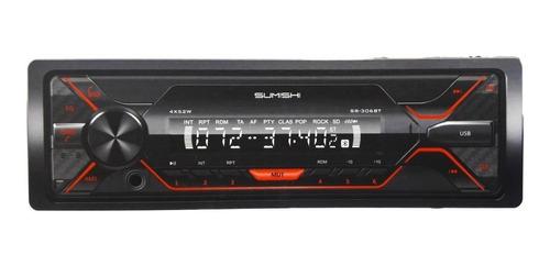 Estéreo Para Auto Sumishi Sr-306bt Con Usb, Bluetooth Y Lector De Tarjeta Sd