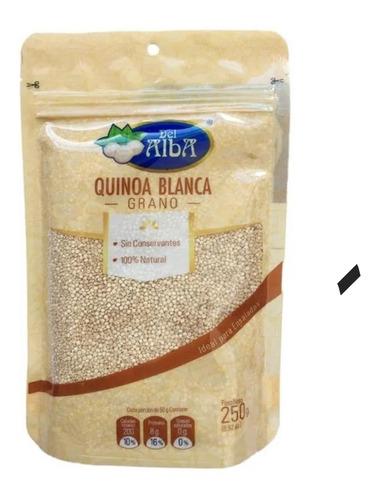 Quinoa Del Alba Blanca Grano X 250g - kg a $44