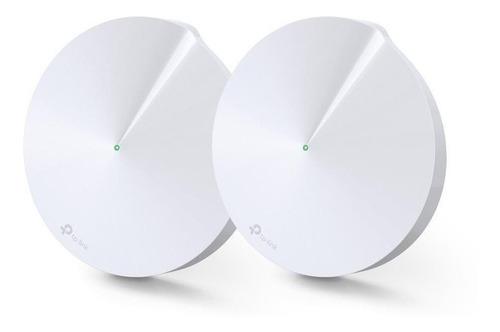 Access Point, Router, Sistema Wi-fi Mesh Tp-link Deco M5  Blanco 100v/240v 2 Unidades