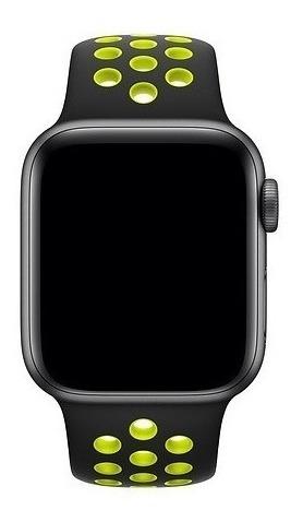 Pulseira Furos Nik E Compatível Com Relógio Applewatch Serie