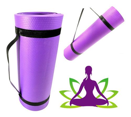Esteirinha Colchonete Yoga Exercicios  (180 X 55 X 10mm)