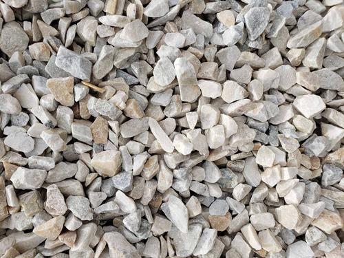 Piedra Partida Blanca Tamaños De 30 A 50 Mm