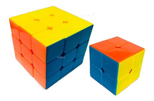 Cubo Magico 2x2x2+3x3x3 Profissional Speed Cube Hanks