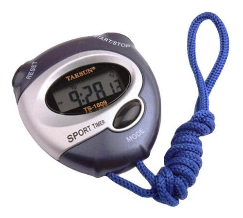 Cronômetro Progressivo Digital Relógio Alarme Data Taksun Ts
