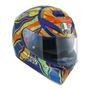 Capacete Para Moto Integral Agv K3 Sv 210301a Multicolor Five Continents Tamanho Xl