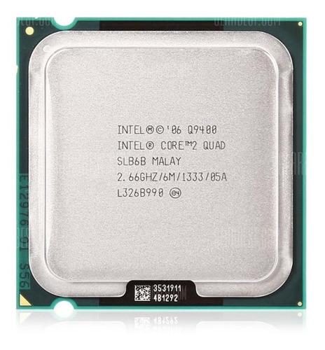 Q9400 Processador Cpu Intel Core2quad Overclock Gammer Game