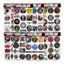 Kit 95 Adesivos Música Rock Psvita Gameboy Música M2