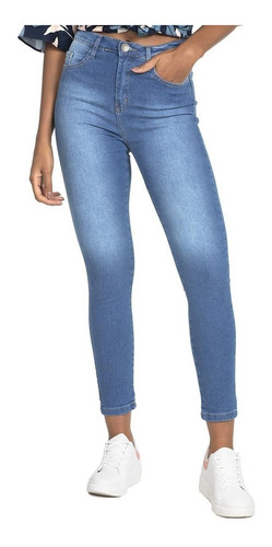 Calça Feminina Jeans Médio Polo Wear