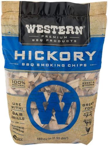 Chips De Madera Para Ahumar Western Hickory Bbq
