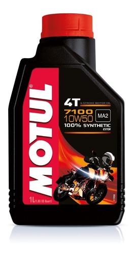 Aceite Moto Motul 7100 10w50 Sintetico 4t Avant Motos