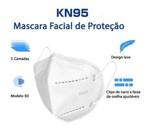 Kit 10 Máscaras N95 Proteção Respiratória Pff2 - Full Anvisa