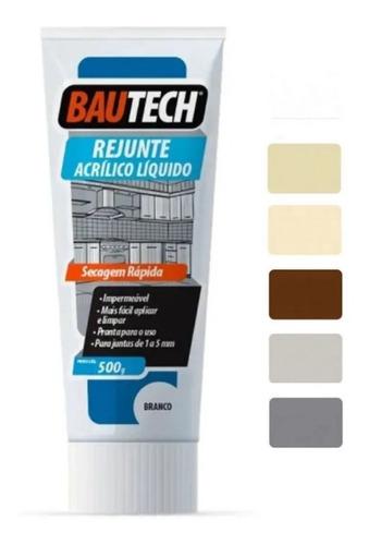 Rejunte Acrílico Líquido Pronto Bautech  470g - Cores